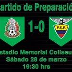 Marcador Final: México (1-0) Ecuador http://t.co/fH8es7JCXz