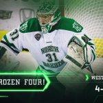 BOSTON BOUND!!!  North Dakota advances to the #FrozenFour! http://t.co/yk1tgLD1D4