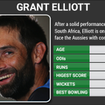 RT @CricketNDTV: Elliott - hero from semis vs #SA - is with Taylor as #AUS hunt for more wickets. #AUSvNZ:  http://t.co/oOpUfBVE0L