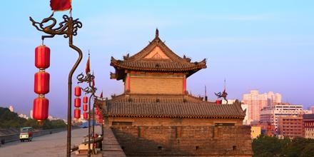 Xian, the starting point of the Silk Road in China. We fly you there 3x a week starting today!