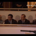 Former US president Bill Clinton with Australian PM Tony Abbott, Indian PM Narendra Modi & Cambodian PM Hun Sen #LKY http://t.co/lotQ14ZzrQ