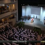 """SSO performs Bach's """"Air"""" from Orchestral Suite No 3 in D Major at #LeeKuanYew funeral service http://t.co/s7b8Ir4wZ6 http://t.co/rHymXDBfNX"""