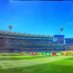 Picture perfect today here at the @MCG #AusvNZ http://t.co/l12OgUdxXR