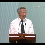 """""""#LeeKuanYew built Spore. To those who seek his monument, Singaporeans can reply proudly, look around you."""" - PM Lee http://t.co/Cn63bVMNd1"""