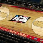 The stage is set... #Badgers #FinalFour http://t.co/2o7g03fOKO