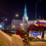В Кремле серьёзно думают, что если убрать цветы с моста, то все забудут, что они убили Немцова??? http://t.co/s6fkNHEPQ9