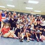 Clemson loves USA Clemson loves the TIGERS Clemson loves #SROW2015 #CUinMurray http://t.co/nosBcEUpMo