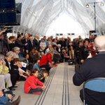 Dans qq mn : 40 musiciens et 28 choristes en live sous la nef de la gare St Roch @OONMLR #montpellier http://t.co/mJgSdr9dq0