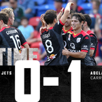 FT | @NewcastleJetsFC 0-1 @AdelaideUnited. Were bringing the three points back home. #NEWvADL #COYR #MyTeamStrong http://t.co/5VsOboUfCC