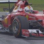BREAKING: Sebastian Vettel WINS the 2015 Malaysia Grand Prix; Hamilton 2nd; Rosberg 3rd #MalaysiaGP #F1inMalaysia http://t.co/diAFms5KQ2