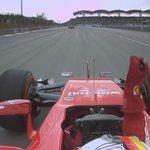 """Ferrari radio: """"Numero uno is back, Ferrari is back!"""" A screaming Vettel responds: """"Grazie mille"""" #MalaysiaGP http://t.co/7TOJBzMV3t"""