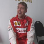 An emotional Sebastian Vettel after his first win with Ferrari :) #MalaysiaGP #F1 http://t.co/0maMX1qgPO