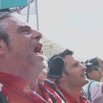 Emotional scenes as the Italian national anthem plays out for @ScuderiaFerrari #MalaysiaGP http://t.co/mOFmTqI23w