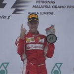 "Vettel: ""Its been a while. Im speechless. Im very happy & proud. We beat them fair & square"" #MalaysiaGP http://t.co/eRJrrLRRup"