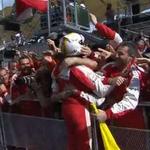 Sebastian Vettels win ends a 34-race drought for Ferrari. Read the full #MalaysiaGP report: http://t.co/2qAZThH2Av http://t.co/XBmhpxvirN