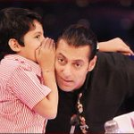 #throwback to this day! Whispering to @BeingSalmanKhan Sirs ear! Guess what I said him! http://t.co/4nD0BrO16b