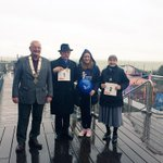 The Leigh Rotary #GreatPierWalk has begun! Everyone welcome, here till 4pm @SouthendNHSCh @SouthendNHS #Southend http://t.co/tyaA3G4GaV