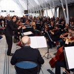 Beaucoup de monde pour assister à ce concert sous la nef de la gare St Roch #montpellier @OONMLR http://t.co/7xfjDJad7V
