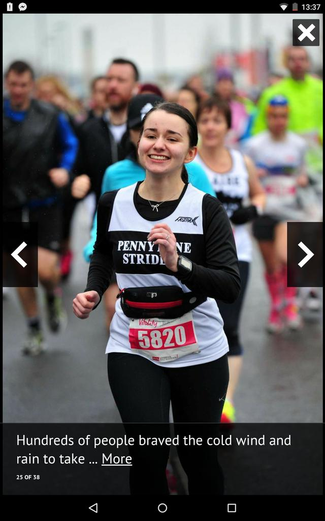 Oh my god, I'm on the @LivEchonews website, running the Liverpool half. Finished in 1.58.02 which is a course PB! http://t.co/DfCNeKyOXx