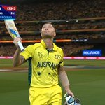 Thank you, captain... #GoGold   LIVE: http://t.co/AnGAEEqFQ3 #cwc15 #AUSvNZ http://t.co/3YBXUCov9P