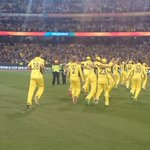 Let the celebrations begin! #cwc15 #AUSvNZ http://t.co/SVWIIJ5Tup