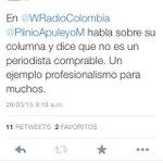 """Santos se atrevió a decirle comprable a Plinio Apuleyo, su """"amigo"""" de toda la vida, porque critica a La Habana http://t.co/mD2fMnbmxI"""