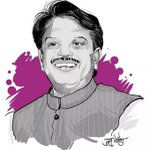 RT @VilasraoD: Wonderful pic of @Vilasraod saheb made by Uday Mohite http://t.co/UIVar4Y7L5