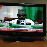 """.@inecnigeria chair, Attahiru Jega says the election wasnt perfect but """"we have done our very best"""". #Nigeriadecides http://t.co/2uSs213djV"""