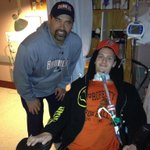 When Coach Yamaoka was in Vancouver for the Senior Bowl he visited Evan, whos spirit and fight is immeasurable. http://t.co/Y7ARTtUe3H