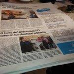 Licitar obra pública als de sempre, propaganda electoral amb diner públic i.. per fi aire nou a Lleida @comudelleida http://t.co/JtAyh2UvOQ