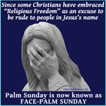 Due to Religious Freedom, please make this important change to your calendars. #BoycottIndiana #PalmSunday http://t.co/kAzohl7FPZ