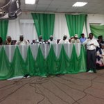 @inecnigeria Chairman Attahiru Jega issuing a press briefing at d ICC Media centre @SituationRoomNg #NigeriaDecides http://t.co/A7DhEmrAeF