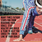 Stay healthy, so you have the endurance to reach the goals you want! #fitness #health http://t.co/vewtGbYnsb