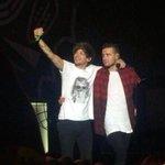 Louis e Liam tirando uma selfie no show de ontem, em Joanesburgo. http://t.co/s61VjmN6SK