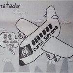 Uno manejaba un avión; el otro una Corte; ambos hicieron lo mismo: http://t.co/uKPqBI1SUB