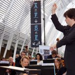 Les 40 musiciens et 28 choristes sont sous la direction de Julien Masmondet @OONMLR #montpellier http://t.co/RP2k2RflhM