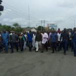 """RT @TouchPH: Happening now, Rivers @APCNigeria in a protest march against INECs conduct of election. http://t.co/9jHMffFAg0"""""""