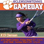 GAMEDAY at NC State at noon! #GoTigers http://t.co/nTWDLr3mHU