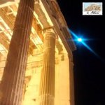 This is #Athens through our eyes! #in_Athens Photo by: seros1983 https://t.co/kWJcEFWYDi #Greece #acropolis #Moon http://t.co/wUqhHusYxI