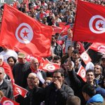 Thousands of Tunisians rally against terrorism after #BardoMuseum attack http://t.co/5Tj7gJJSof