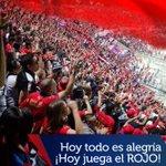 Hoy todo es alegría, hoy en Norte de Santander estará la razón más fuerte, ¡hoy juega el #ROJO! #VamosMedellín http://t.co/Zza5Mf68Ob