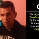 #Atención Autor de la masacre de cuatro niños en Caquetá se fugó de la cárcel http://t.co/cZtytMCHRS http://t.co/OvBRgWGeuO