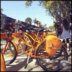 """""""Mi Bici, tu Bici"""". Rosario, la ciudad latinoamericana con + km de cilcovias ahora suma bicicletas públicas. http://t.co/we6oZgaihY"""