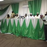 """""""Weve received reports that local @inecnigeria office torched. Weve commenced investigation."""" -Jega #NigeriaDecides http://t.co/GrS3yYEUHh"""