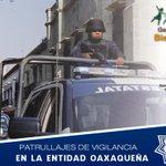 Patrullajes de vigilancia en la entidad oaxaqueña. @GabinoCue @GobOax @VictorAlonso13 @Policia_GobOax #Oaxaca http://t.co/phI157dCi2