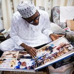 """While GEJ is running helter skelter """"@GMBVolunteers GMB going through an album of his album campaign #Nigeriadecides http://t.co/ZSMlaj6nT0"""