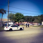 Waiting for statement after JSO involved shooting at Cleveland Arms. #Jacksonville #shooting @photobrucelipsky http://t.co/eaymoMBQR1