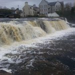The Falls in Ennistymon County Clare #ireland :) http://t.co/pJAzKBiroA