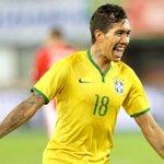 ???? Roberto Firmino pela Seleção Brasileira: ▪️ Jogos: 4 ▪️ Gols: 2 ▪️ Assistências: 1 http://t.co/hOSsnXkYof