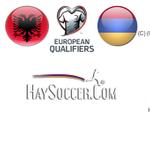 20 Mins to #Albania - #Armenia, Heres the line ups: #GoArmenia #UEFA #EuroQualifiers #Euro2016 http://t.co/a7habtp67v